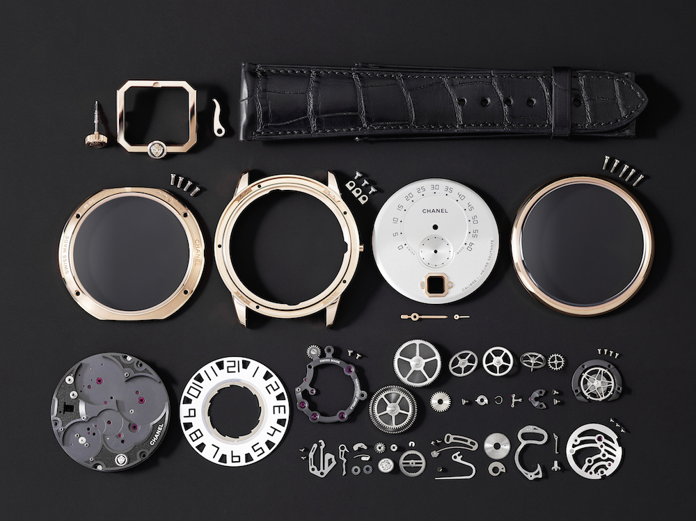 The Monsieur de Chanel watch was five years in the R&D stages.