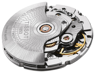 The movement of the Powermatic 80 offers 80 hours of power reserve and has been configured to beat more slowly - at 3 hz.