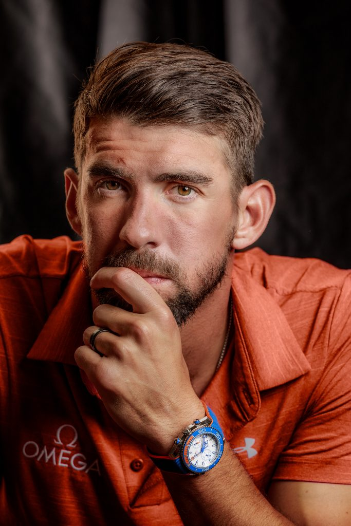 Michael Phelps has won an incredible 28 Medals -- making him one of the most decorated athletes today. The Omega Seamaster Planet Ocean Michael Phelps watch is offered in an edition of 280 pieces to pay homage to those 28 medals.
