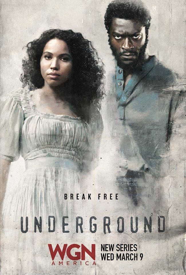 Ad for Underground, with Aldis Hodge