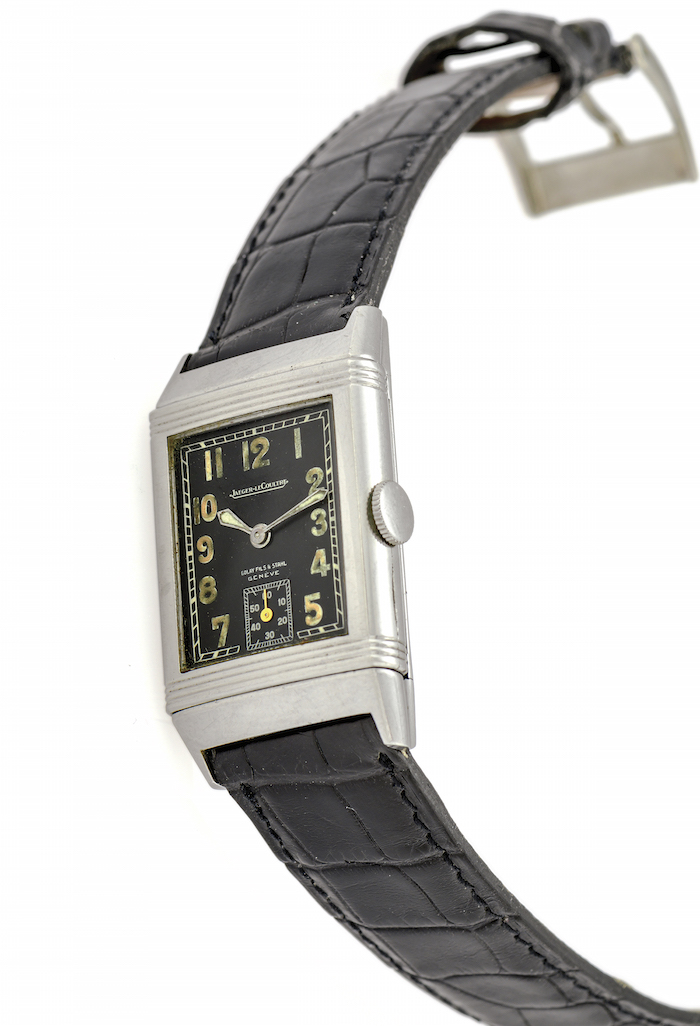 Jaeger LeCoultre Ref. 201 Early Steel Reverso lot no. 359