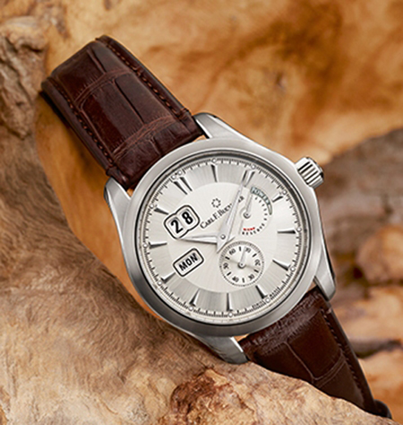 Carl F. Bucherer Manero Power Reserve with in-house caliber.