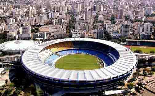 Brazil World Cup 2014, Maracan Stadium.