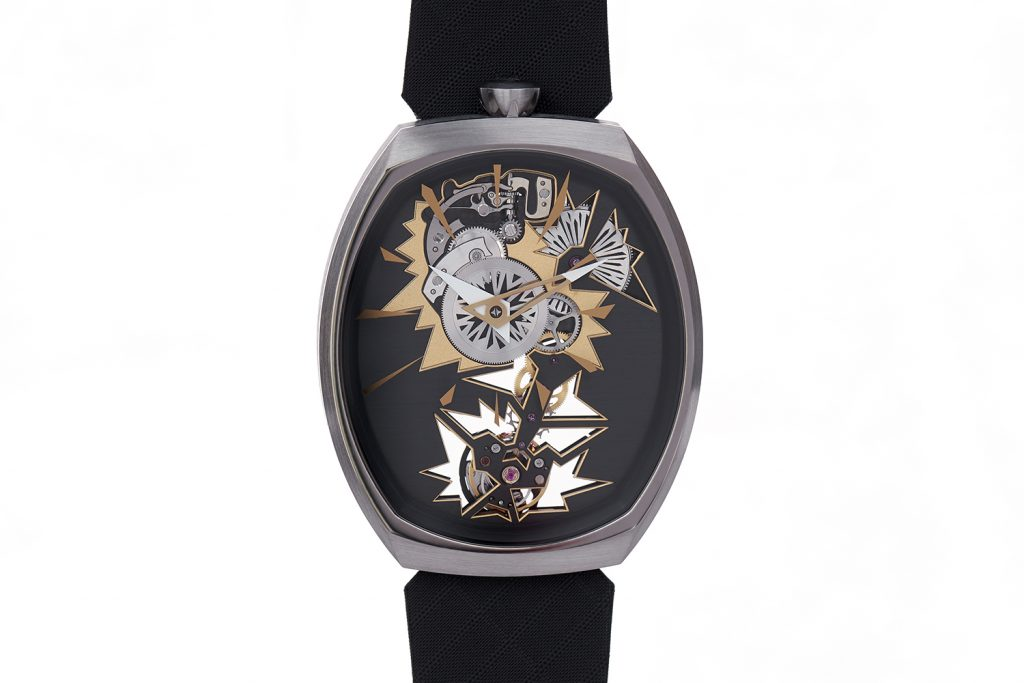 Fiona Kruger Chaos Mechanical Entropy watch features a new movement, Chaos, by Agenhor.