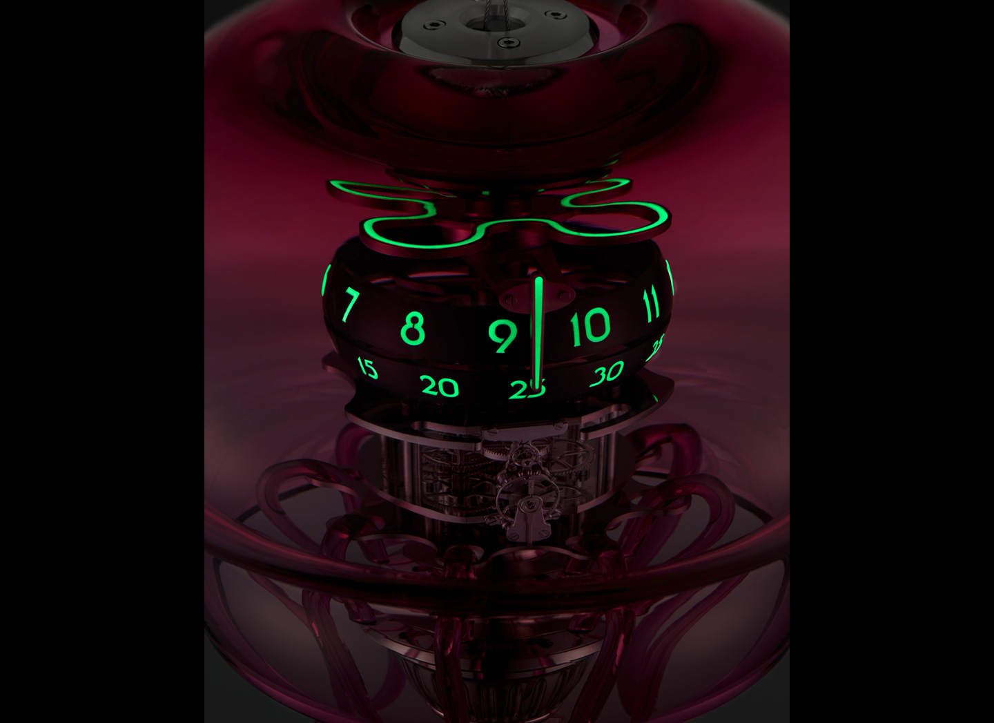 MB&F Medusa Clock made in cooperation with L'Epee