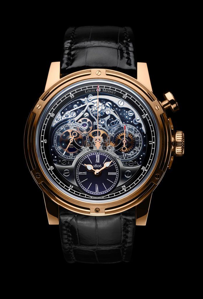 Louis Moinet Memoris chronograph watch wins the Good Design Award.