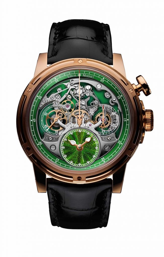 Louis Moinet Memoris Scarab Wings Watch