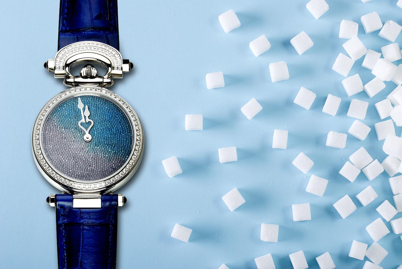 Bovet sugar crystals watch dial