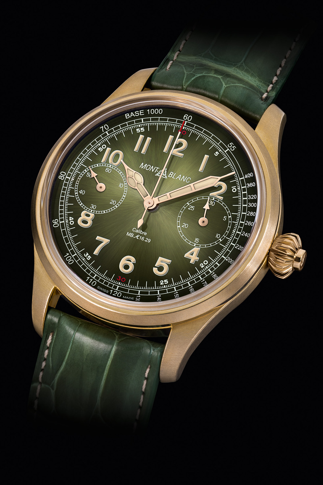 Montblanc 1858 Chronograph Tachymeter Unique Piece Only Watch '17