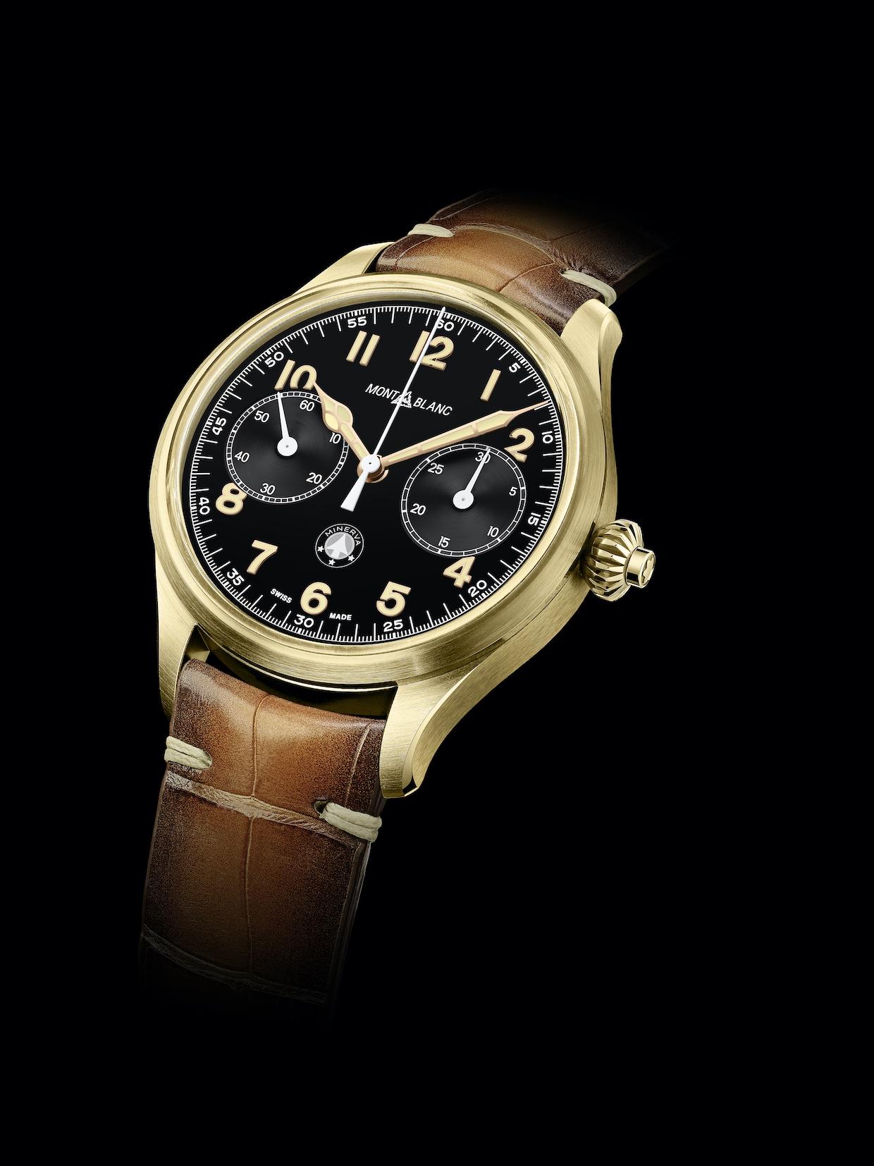 Montblanc 1858 Monopusher Chronograph Origins watch
