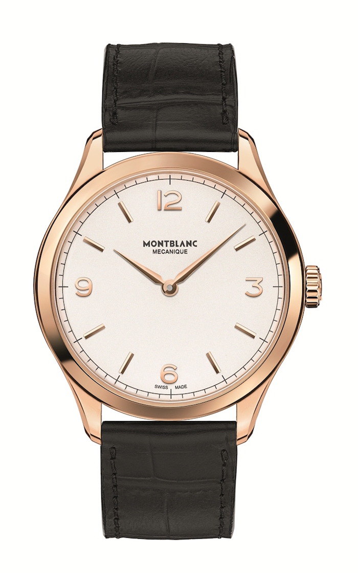 Heritage Chronometrie Ultra Slim is just 38mm in diameter and 5.8mm high.