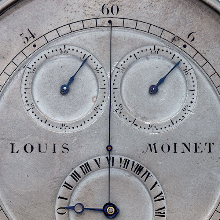 Louis Moinet invented the chronograph