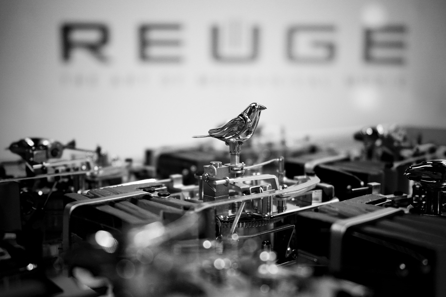 The making of the movement for the singing bird atop the Kelys  & Chirp automaton.