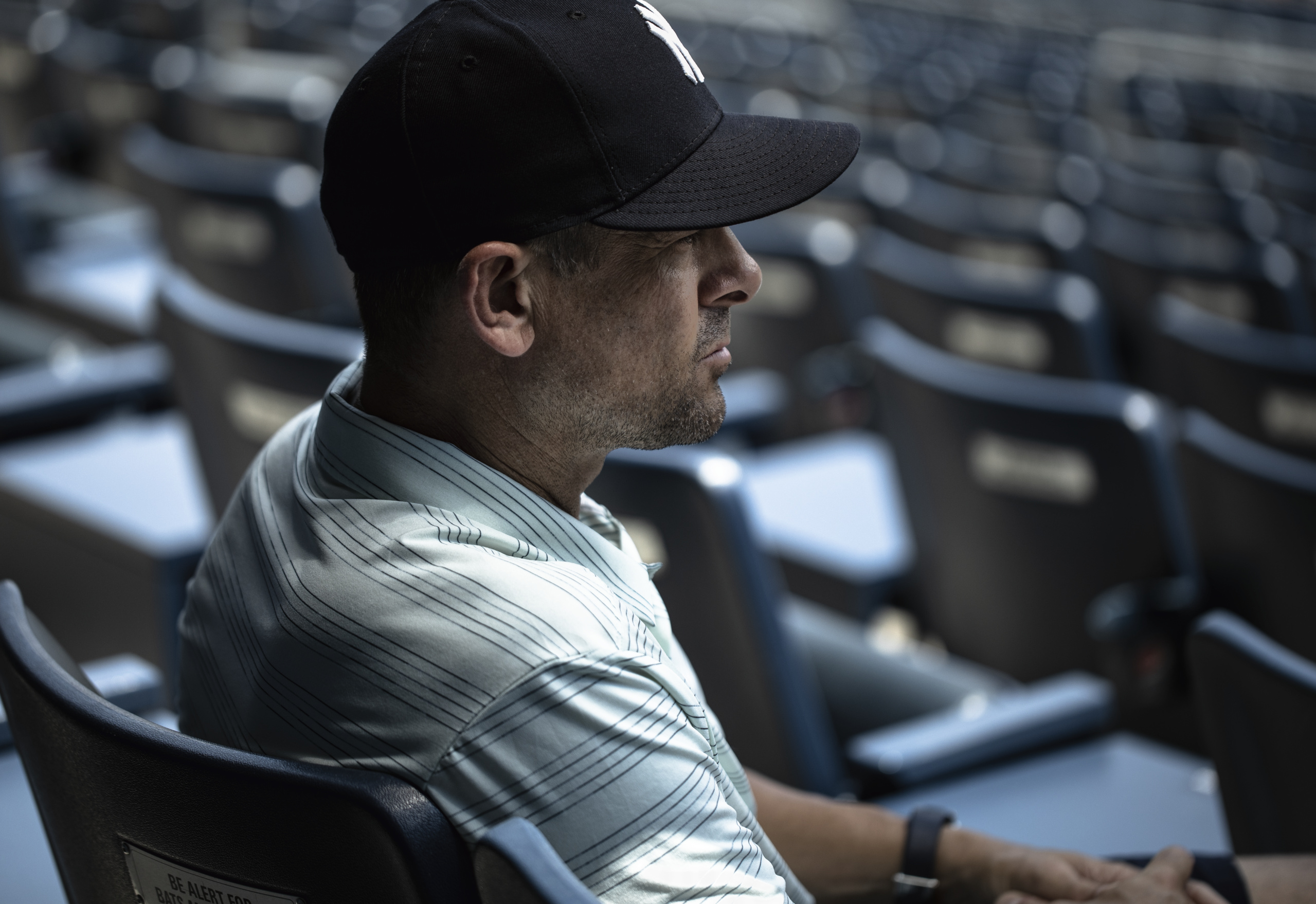 New York Yankees' Manager Aaron Boone