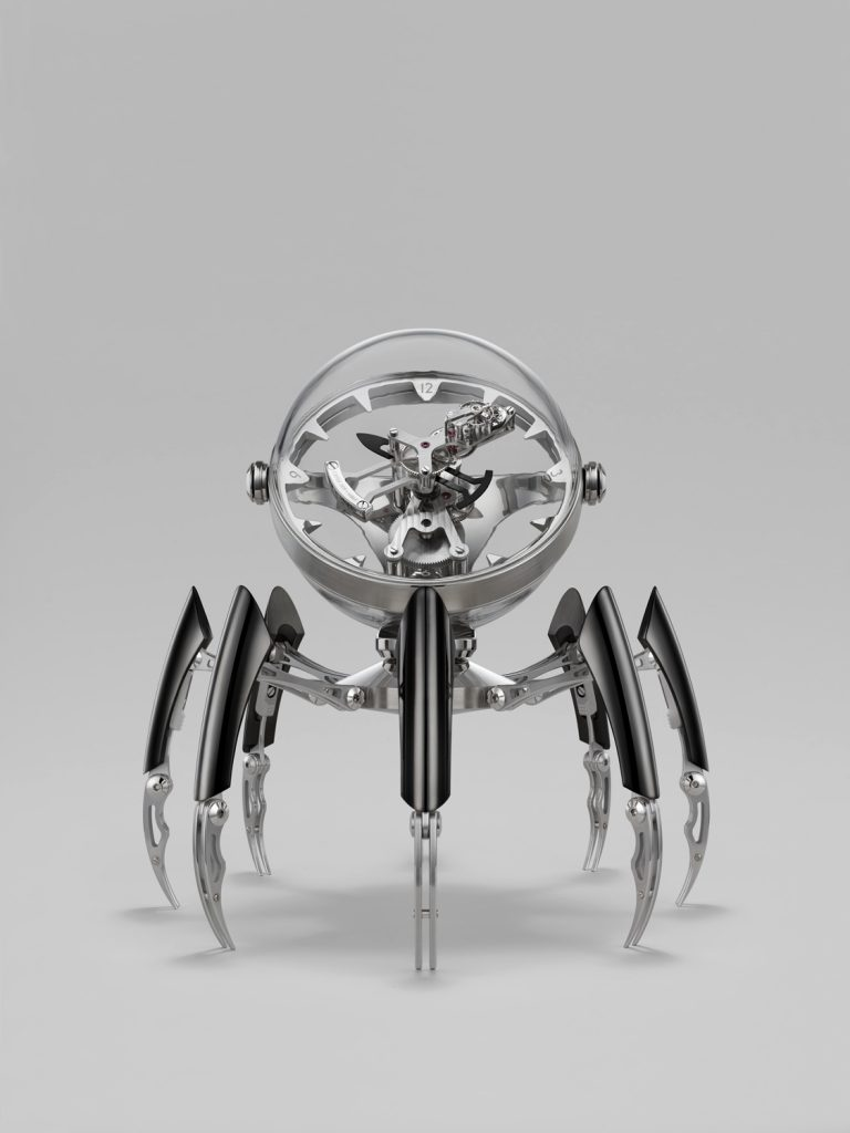 MB&F Octopod clock built in conjunction with L'Epee 1839