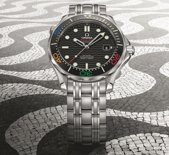Omega Seamaster Diver 300M Rio watch