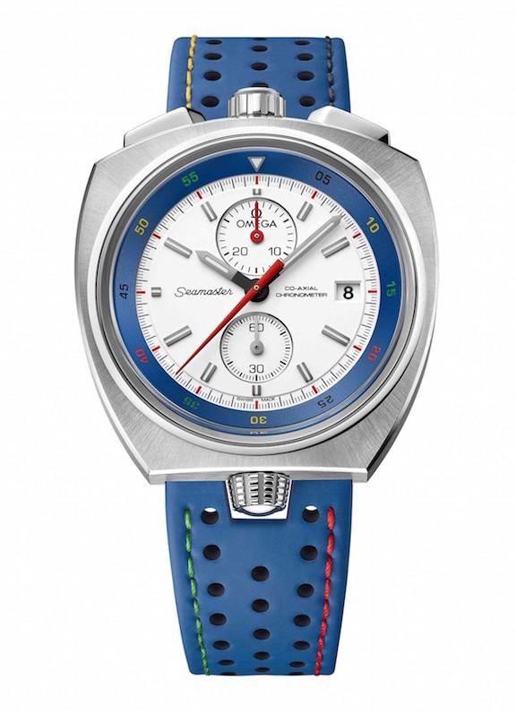 Omega Seamaster Bullhead Rio 2016 watch