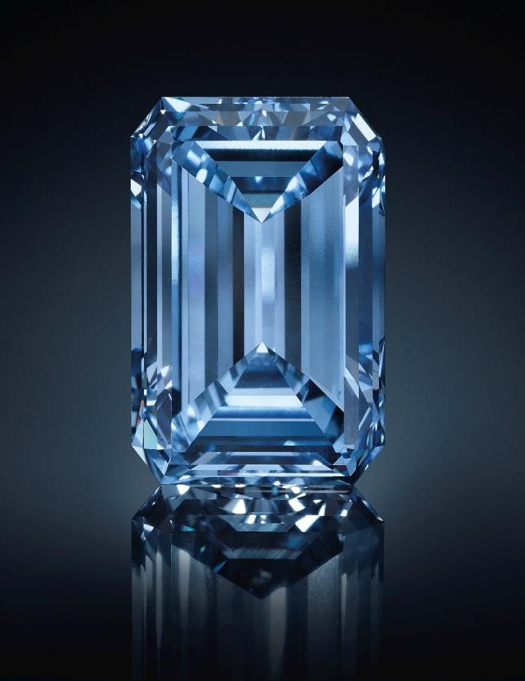Oppenheimer blue diamond sets a world record