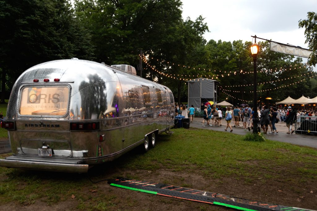 Oris Airstream Pop-Up shop mixes vintage mobile Americana with Swiss watchmaking.