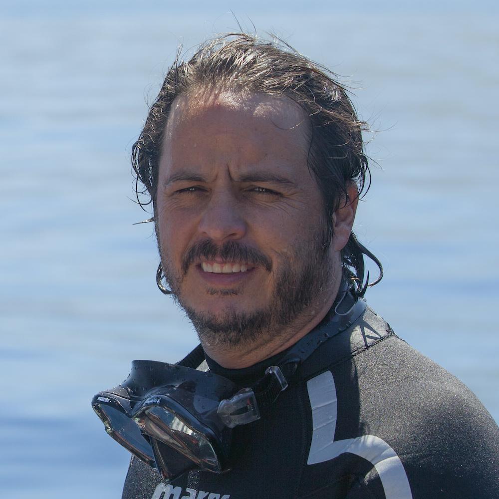 Oris ambassador Gerardo del Villar , Oris Whale Shark