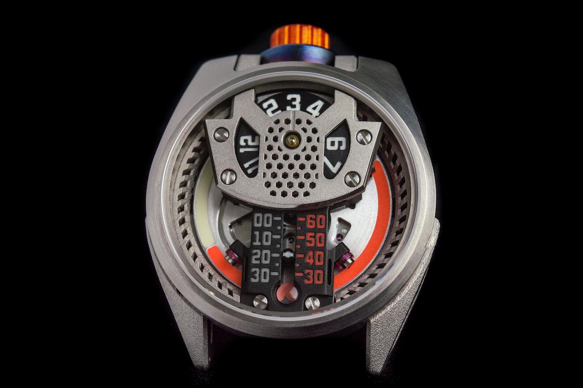Barrelhand Project One watch