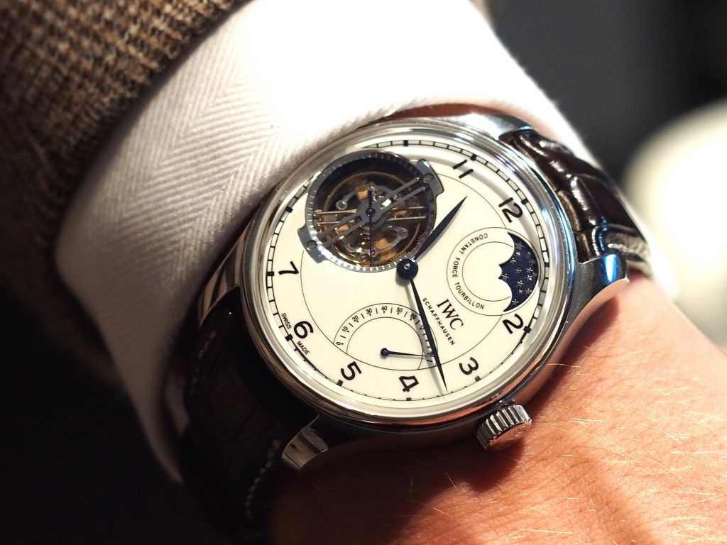 IWC Schaffhausen Portugieser Constant-Force Tourbillon 150 Years watch