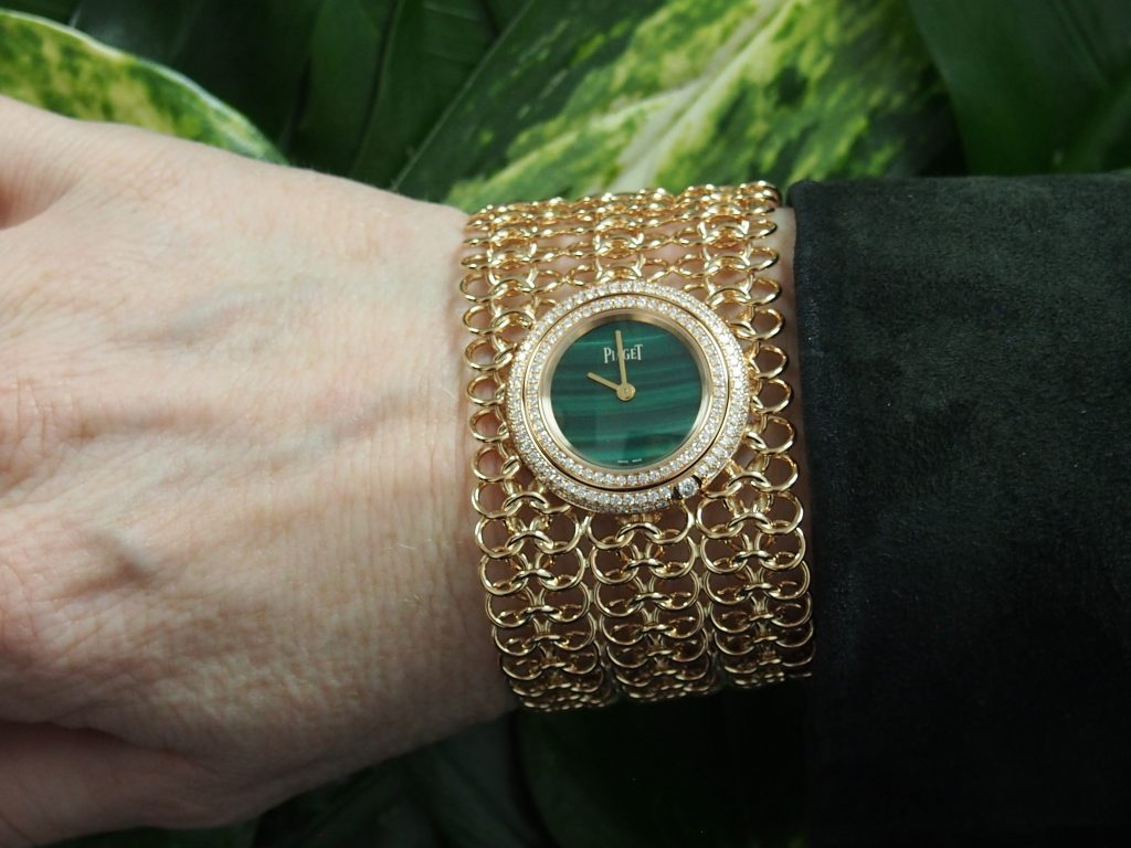Piaget Possession Cuff jewelry watch, Watches & Wonders Miami.