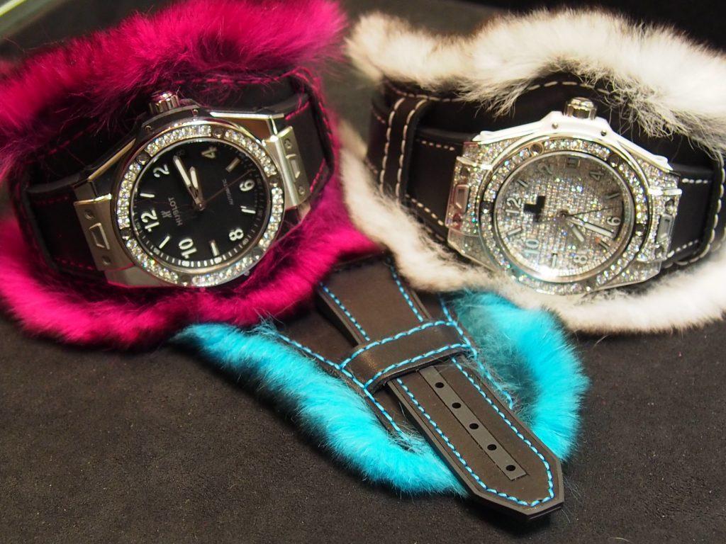 "blot Big Bang ""One Click"" Cuddly cuff watch (Photo: R. Naas)"