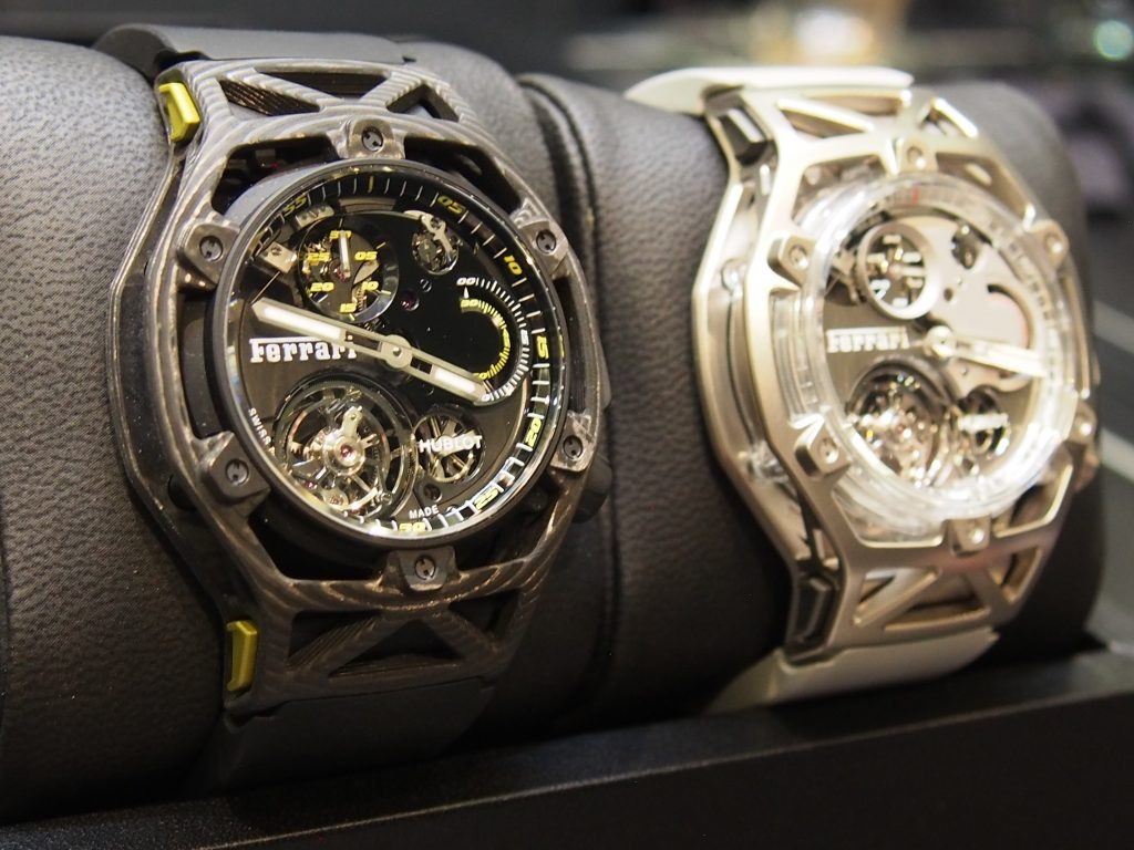 Hublot Ferrari TechFrame at Watches & Wonders Miami