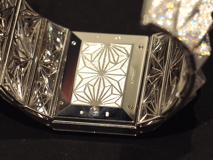 Reverse side of the Audemars Piguet Diamond Punk