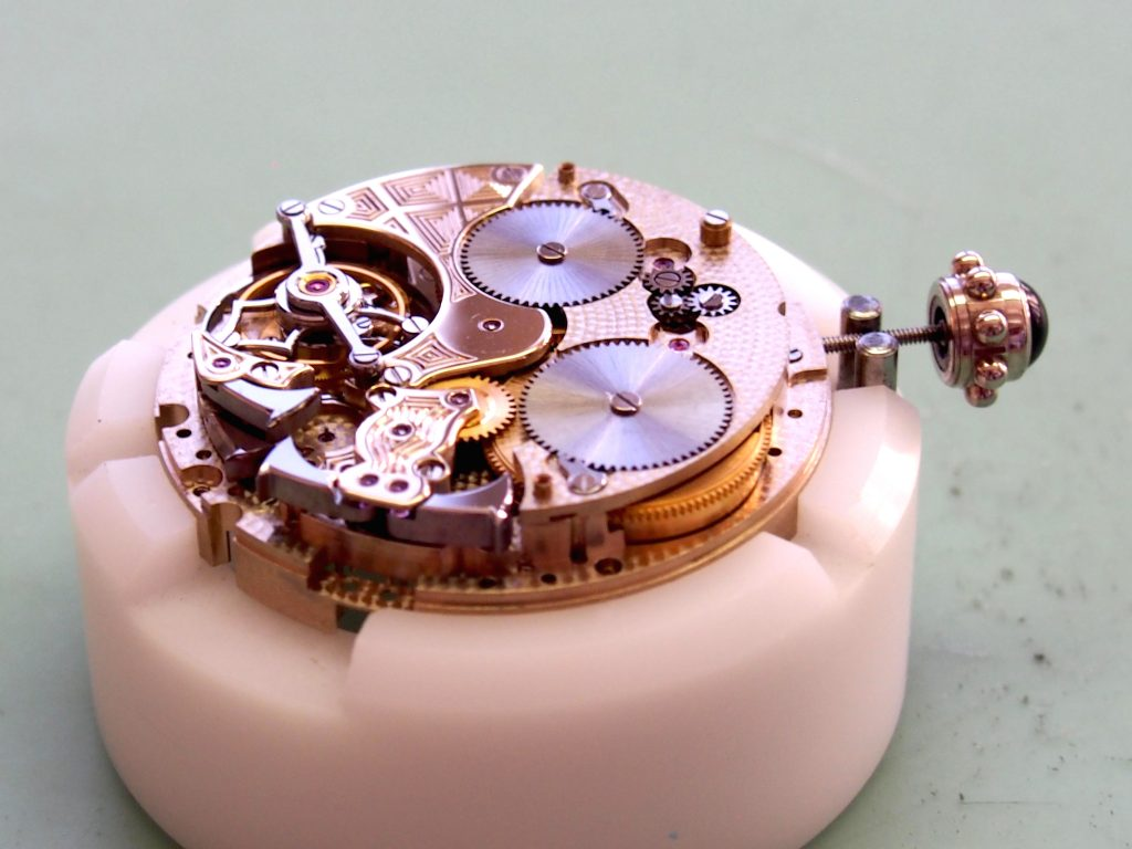 Rubies inside watch movements act as ball bearings and eliminate friction.
