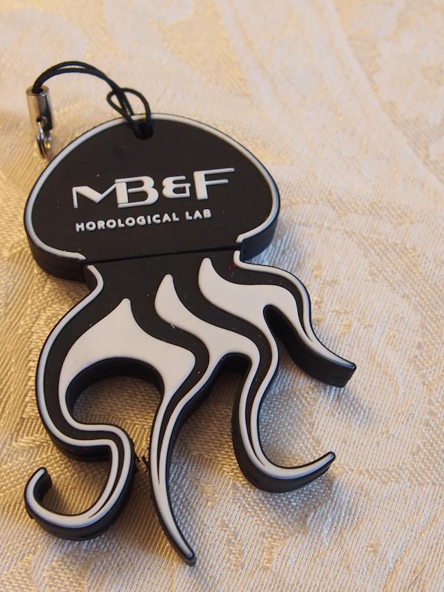 MB&F jellyfish USB key at SIHH 2017