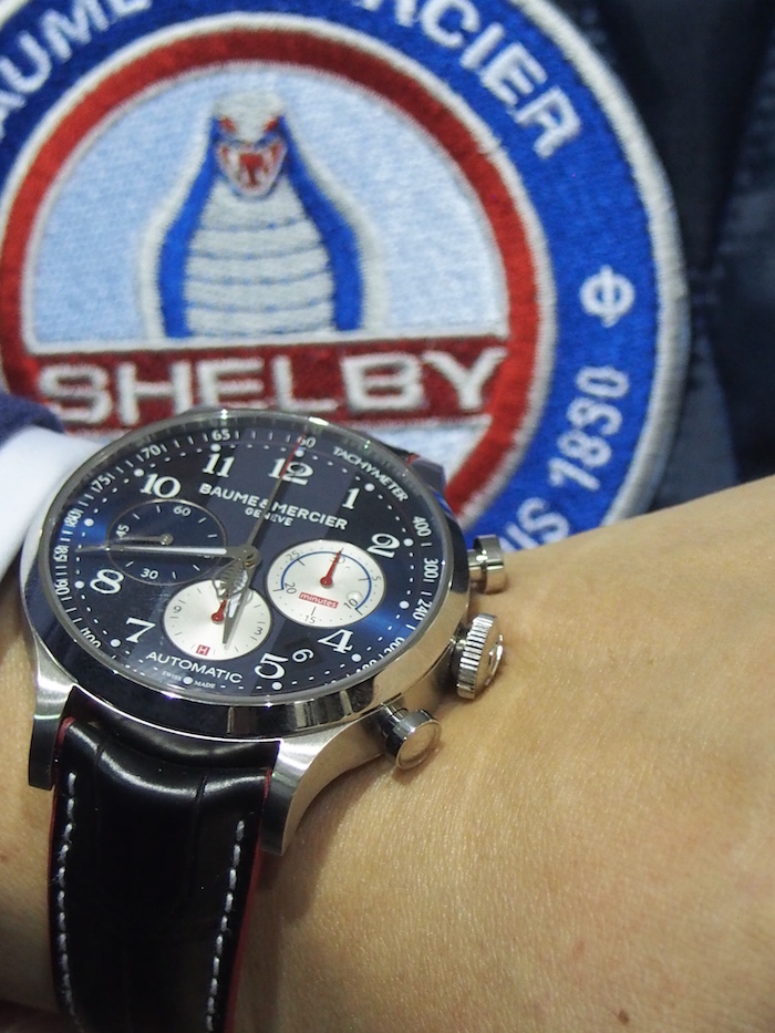 Baume & Mercier Capeland Carroll Shelby Cobra in Stainless steel (C) R. NAAS