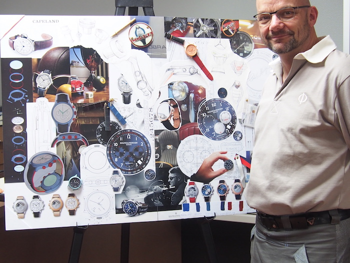 Alexandre Peraldi, Director of Design, Baume & Mercier.