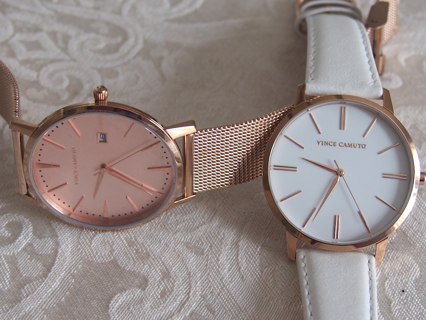 Vince Camuto watches at Baselworld 2017