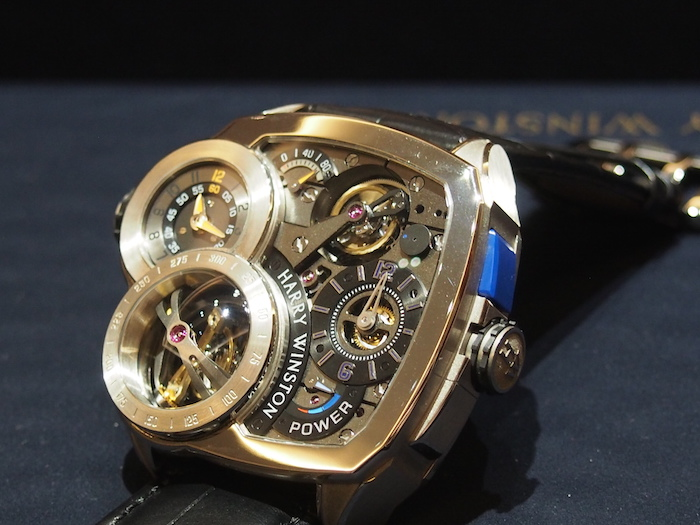 Harry Winston Histoire de Tourbillon 6 with tri-axial tourbillon