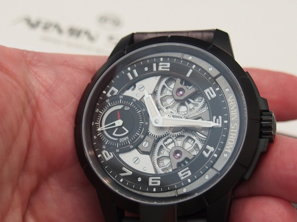 Armin Strom The Edge Double Barrel, first unveiled in BaselWorld 2016