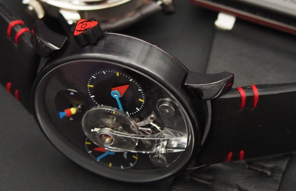 MB&F Legacy Machine No. 1 Silberstein, in cooperation with Alain Silberstein. (Photo: R.Naas/ATimelyPerspective)