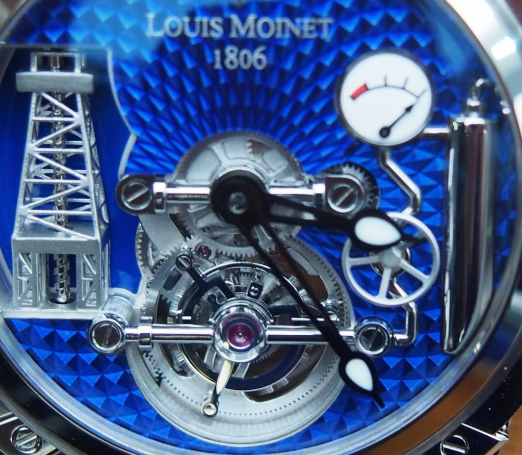 The Louis Moinet Tourbillon Gaz watch holds a patent