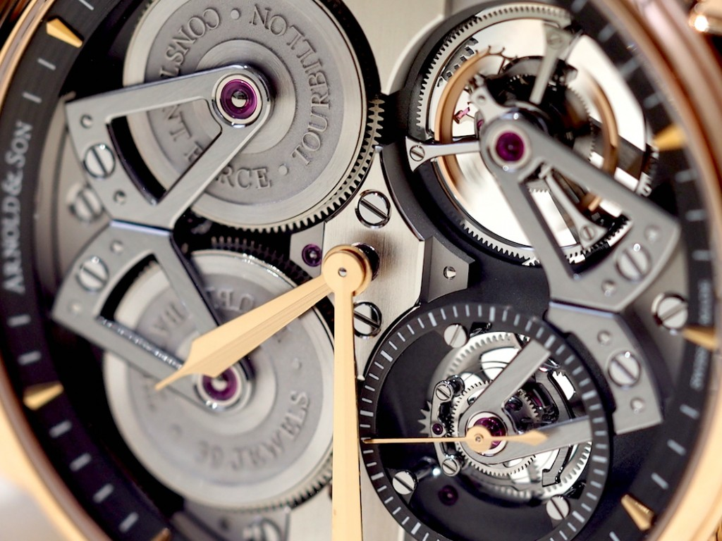 Arnold & Son Constant Force Tourbillon offers depth and dimension