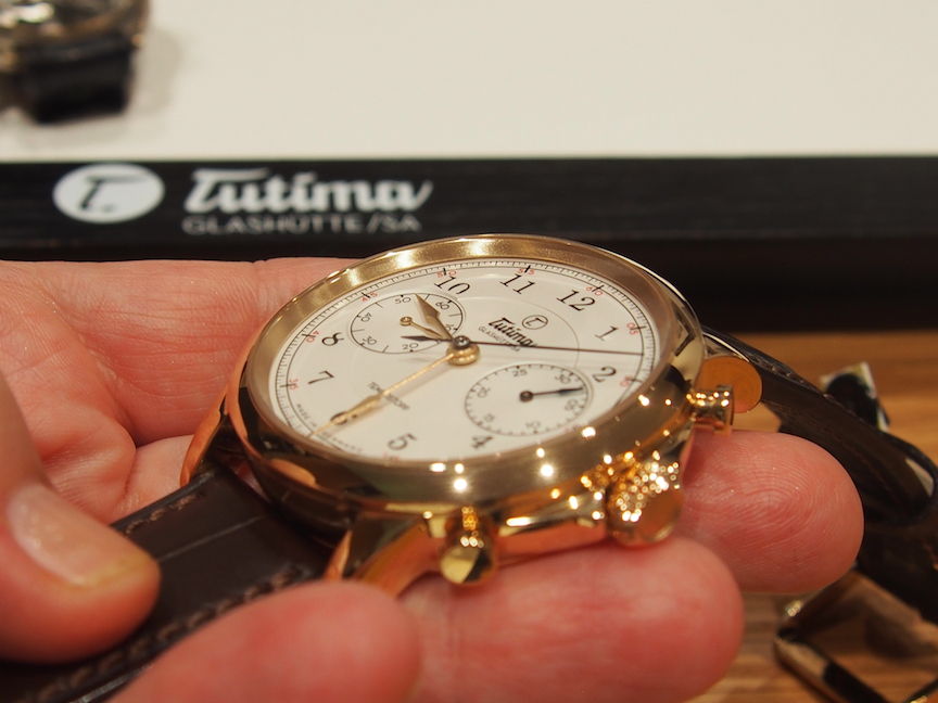 Tutima Tempostopp chronograph with in-house-made caliber is being built in a limited edition of just 90 pieces for the 90th anniversary of the brand.