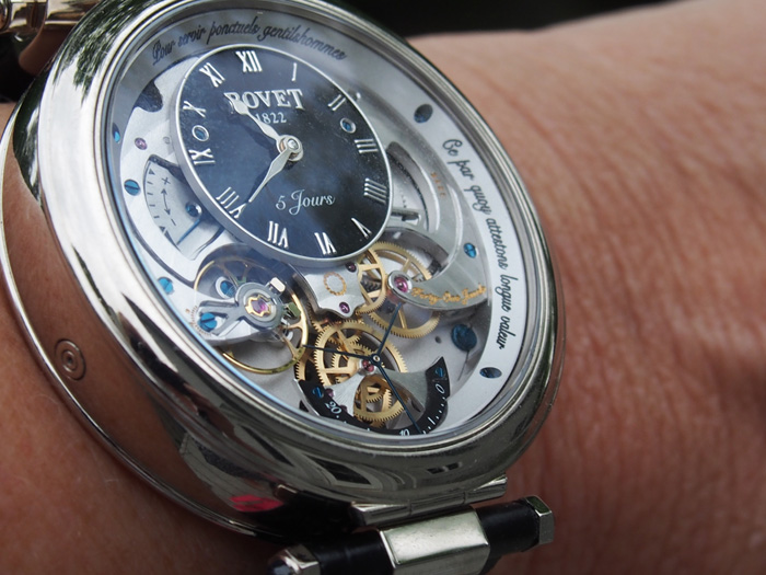 The Virtuoso VII sits on the wrist like a king