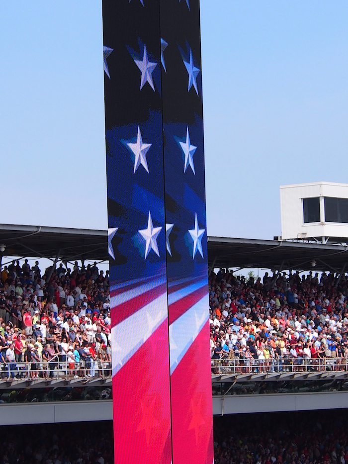 The Indy 500, on Memorial Day Weekend, is as American as it gets