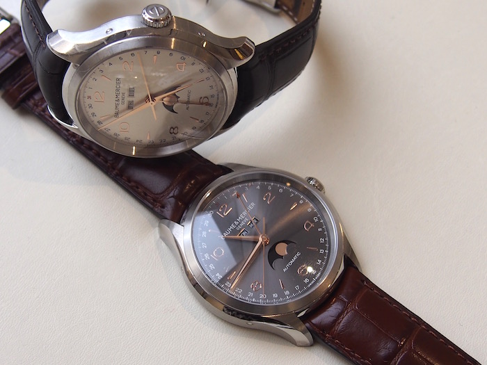 Clifton Complete Calendars with a white or anthracite dial (model no. 10055 and 10213 respectively)