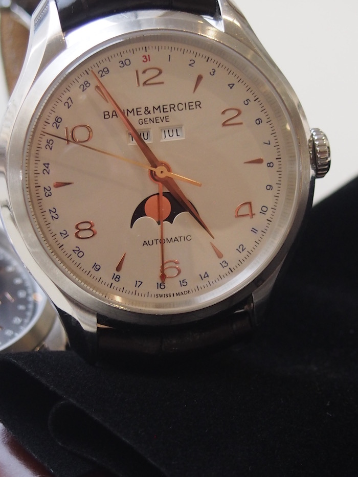 The Clifton 10055 with its white dial selling for $4,950