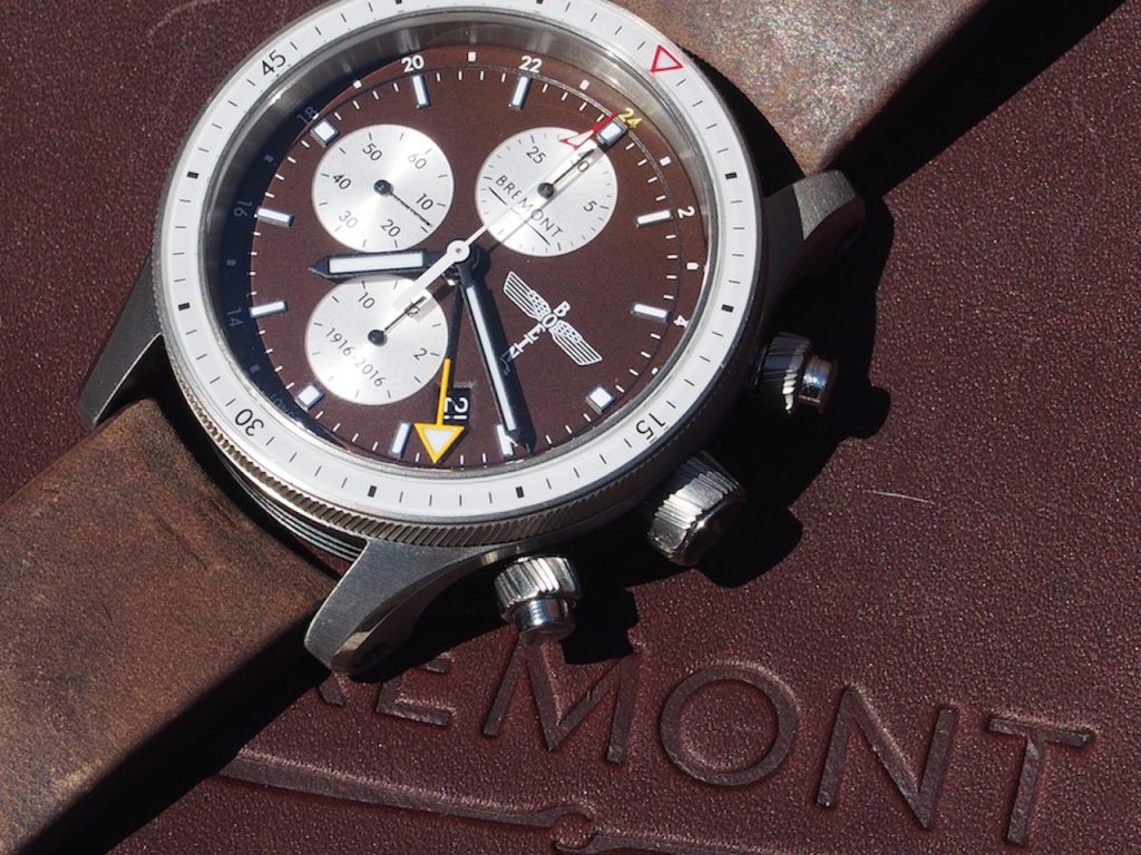 Made in a limited edition of 300 pieces, the Bremont Beoing 100 retails for $7,595.