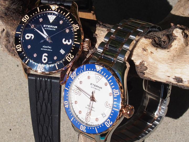 Swiss-Made Eterna Lady KonTiki Diver Watches