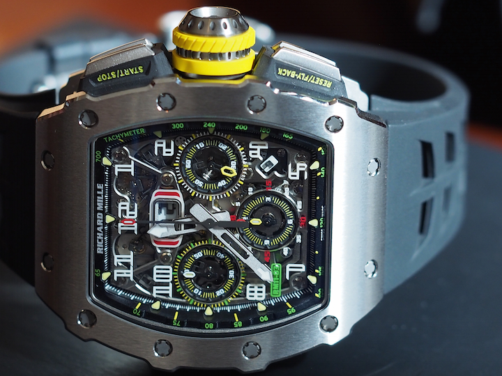 The Richard Mille RM11-03 marks a new generation of automatic flyback chronograph for the brand.