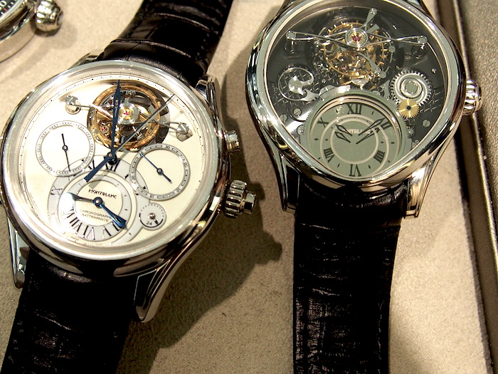 Complex watches from Montblanc may be becoming a new norm.