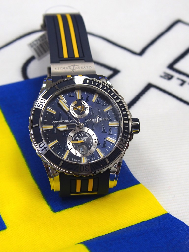 Ulysse Nardin Marine Diver Artemis watch (photo: R. Naas)